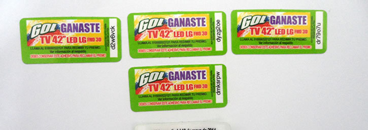 Banner Stickers código variable 01